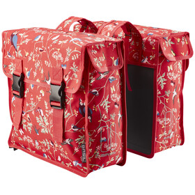 Basil Wanderlust Bike Pannier red